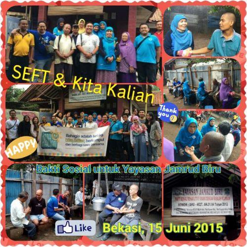 Baksos di Panti Rehabilitasi Sakit Jiwa Yayasan Jamrud Biru