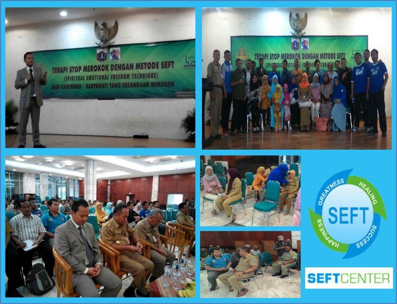 Terapi Stop Merokok dengan metode SEFT di Pemda Jakarta Timur